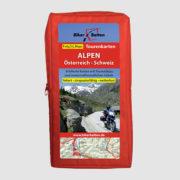 Tourenkarten-Set Alpen Österreich / Schweiz